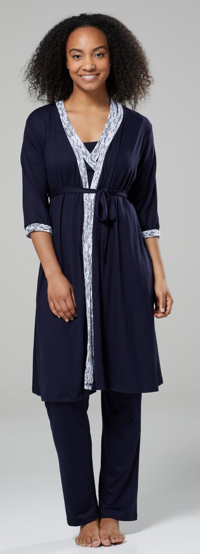 Pyjamas //Robe SOLD SEPARATELY 1015 HAPPY MAMA Women/'s Maternity Nightie