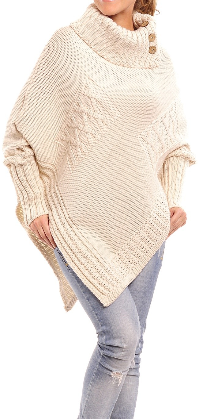 Knitting Pattern For Womens Cape