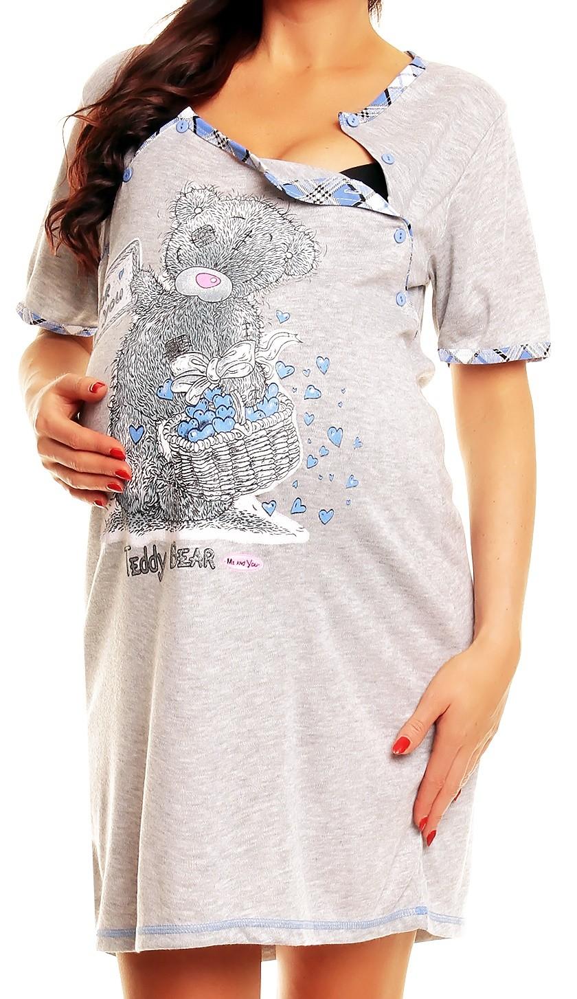 happy mama femme maternit nursing chemise de nuit allaitement chemise de nuit 363p. Black Bedroom Furniture Sets. Home Design Ideas
