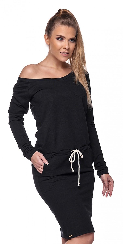 Black t shirt dress ebay - Capri Moda Women 039 S Baggy Tie Midi