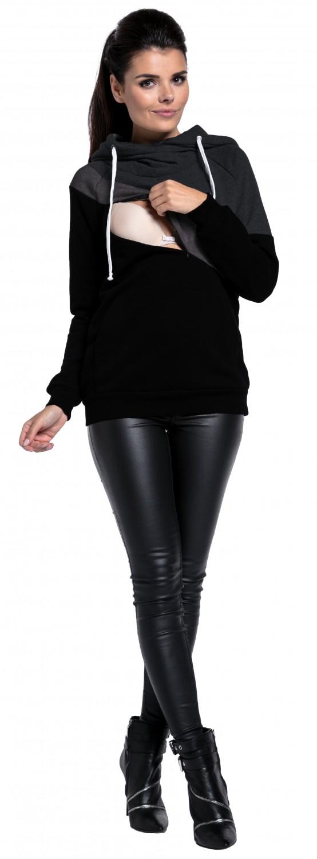 Zeta Ville nursing panel Women/'s breastfeeding top sweatshirt hoodie 321c