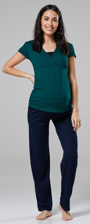 Happy Mama Women/'s Maternity Top Nursing Breastfeeding Pyjamas Nightwear 201p