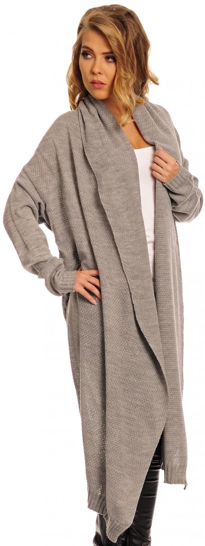 CAPRI MODA - Women's Lightweight Knit Longline Maxi Cardigan Coat ...
