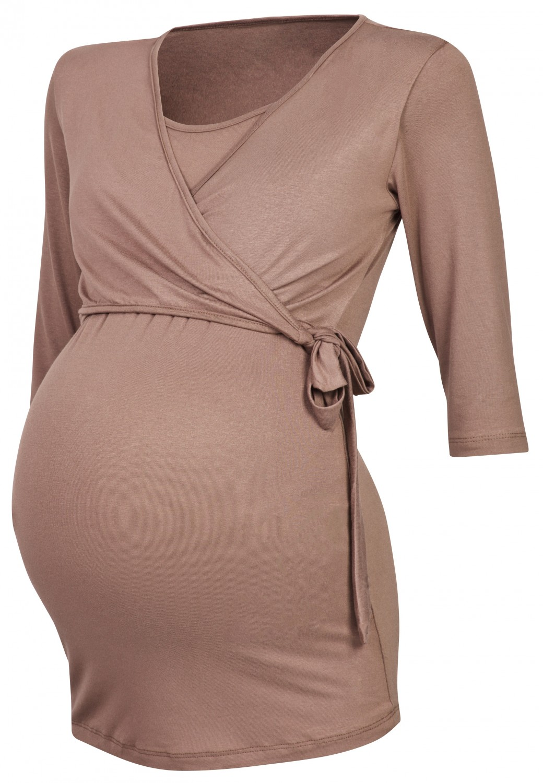 Happy Mama. Women's Maternity Nursing 2in1 Bolero Top ...