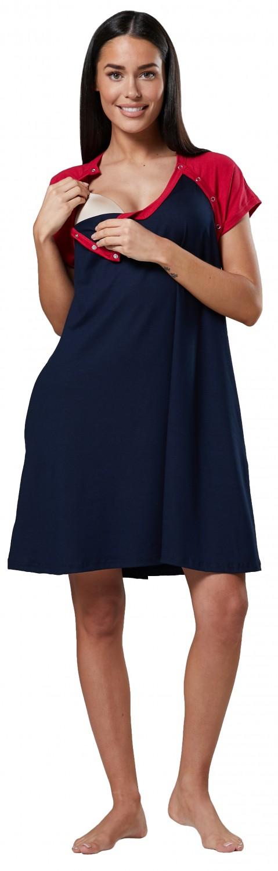 Zeta Ville Women/'s Maternity Nursing Snaps Nightshirt Hospital Gown 132p