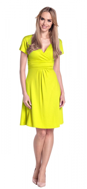 thumbnail 36 - Glamour-Empire-Women-039-s-Knee-Length-Short-Sleeve-Jersey-Skater-Summer-Dress-108