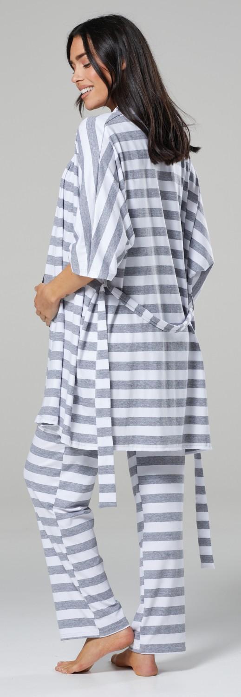 Happy Mama Women/'s Maternity Nursing Pyjama Set Baby Mama Matching Set 181p