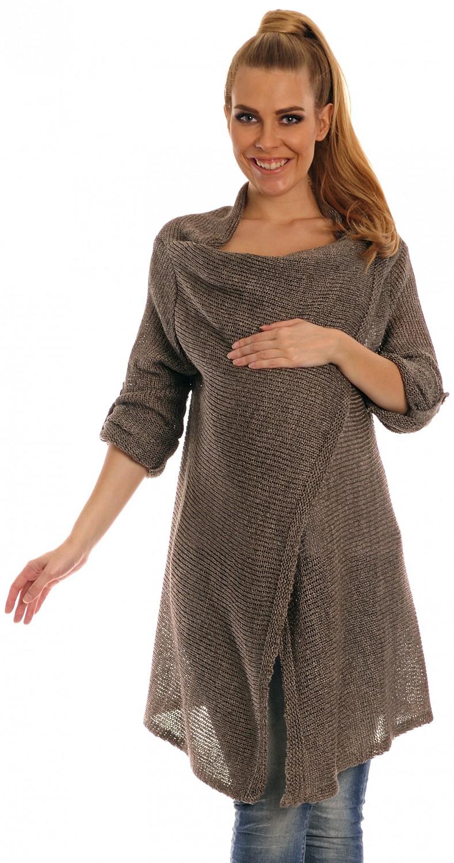 Knitting Pattern Waterfall Cardigan Free : Happy Mama Womens Maternity Waterfall Cardigan Crochet Knit Coat Long Wr...