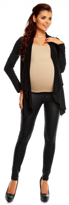 Zeta Ville Women's Pregnancy Maternity Waterfall Jacket Cardigan Blazer Top 320c