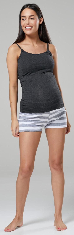 HAPPY MAMA Women/'s Maternity Nursing Pyjamas Set Short Long Pants Top 1075