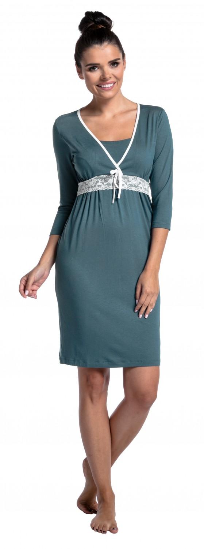Women/'s Maternity Nursing Nightdress Breastfeeding Nightie Zeta Ville 255c
