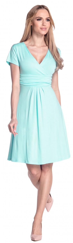 thumbnail 132 - Glamour-Empire-Women-039-s-Knee-Length-Short-Sleeve-Jersey-Skater-Summer-Dress-108