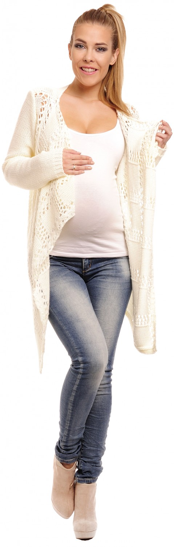 Happy Mama para Mujer Maternidad Tejido Crochet Cardigan Cascada ...