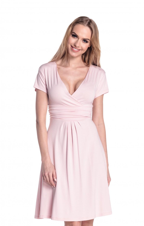 thumbnail 86 - Glamour-Empire-Women-039-s-Knee-Length-Short-Sleeve-Jersey-Skater-Summer-Dress-108