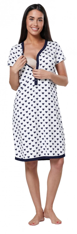 Zeta Ville Women/'s Maternity Nursing Hospital Gown Buttoned Nightshirt 559