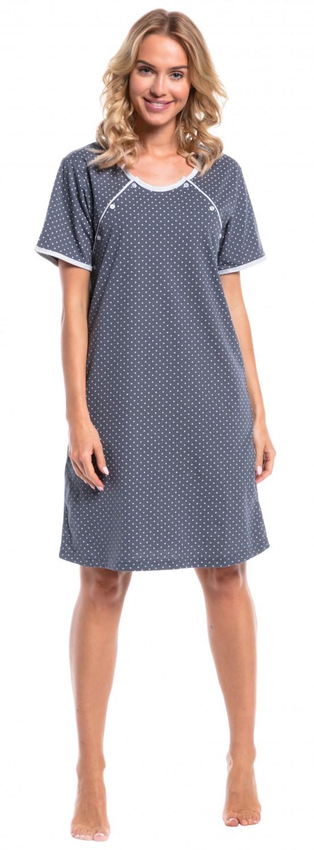 Happy Mama Women\'s Maternity Hospital Gown Nightie Polka Dot ...