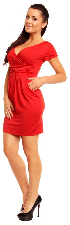 Women/'s Empire Waist Pleated Tulip Dress Pockets Size 10-16 806z Zeta Ville