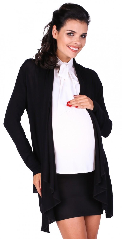 Zeta Ville - Women's Maternity Waterfall Thin Knit Cardigan Draped ...