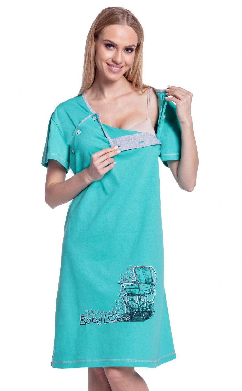 Happy Mama Women\'s Maternity Hospital Gown Robe Nightie Set Labour ...