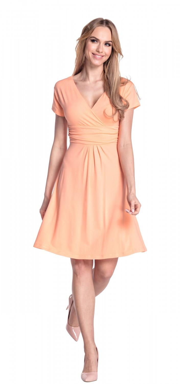 thumbnail 94 - Glamour-Empire-Women-039-s-Knee-Length-Short-Sleeve-Jersey-Skater-Summer-Dress-108