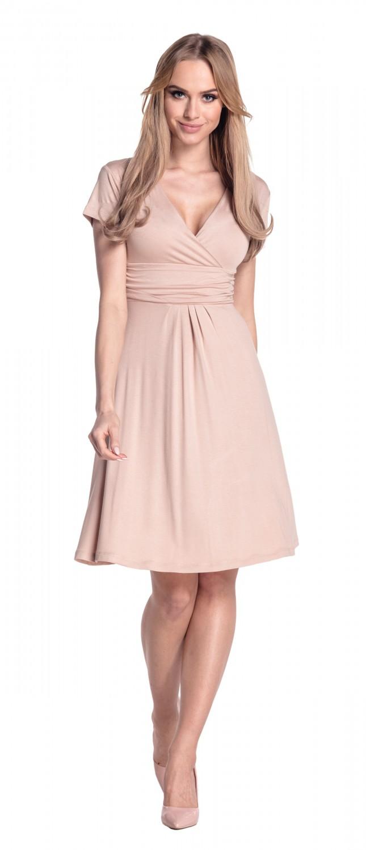 thumbnail 126 - Glamour-Empire-Women-039-s-Knee-Length-Short-Sleeve-Jersey-Skater-Summer-Dress-108