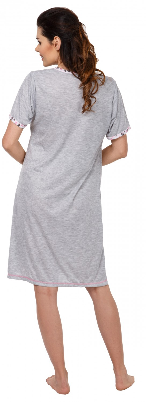 Zeta Ville 135c Women/'s Maternity Nursing Nightdress Breastfeeding Nightie
