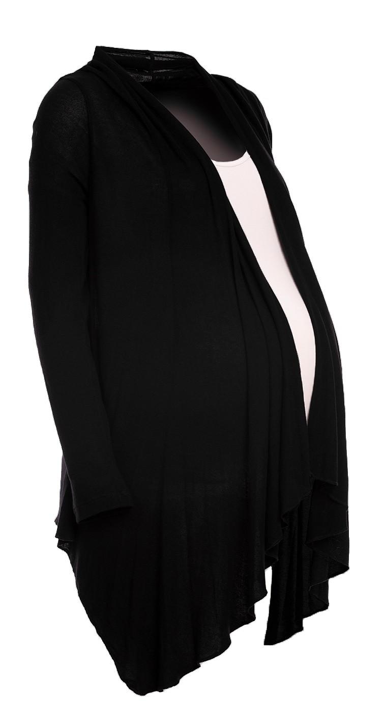 Happy Mama Women's Maternity Thin Knitwear Waterfall Cardigan ...