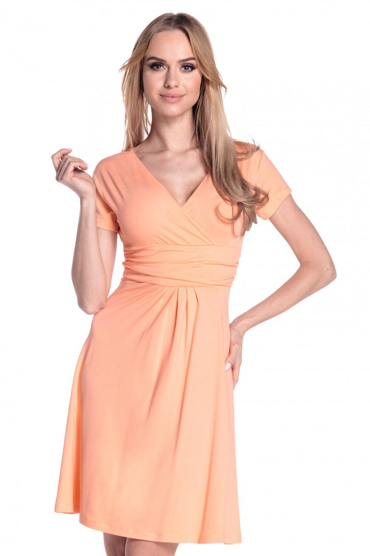 thumbnail 93 - Glamour-Empire-Women-039-s-Knee-Length-Short-Sleeve-Jersey-Skater-Summer-Dress-108