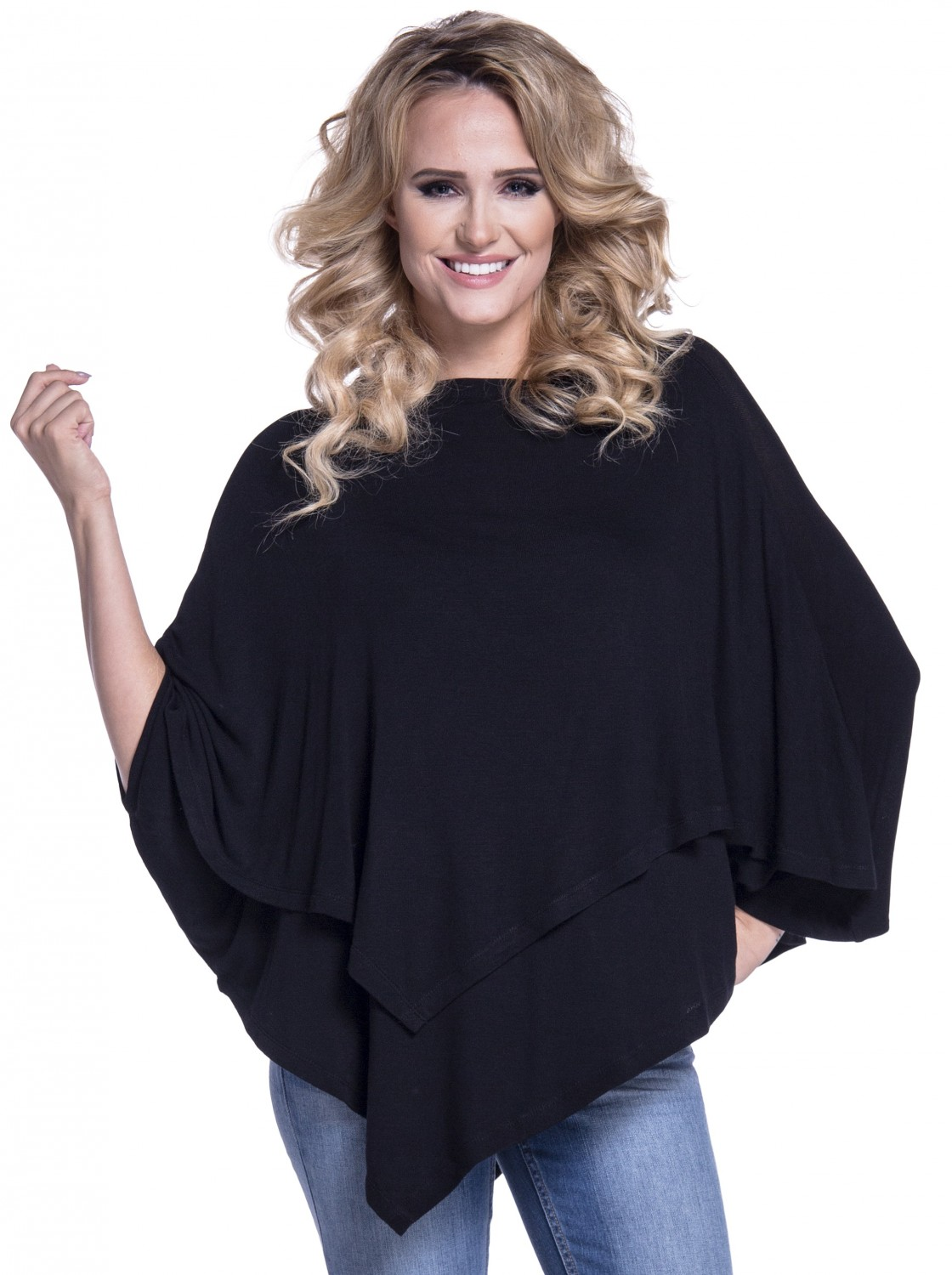 Happy Mama. Women's Maternity Nursing Double Layer Poncho ...