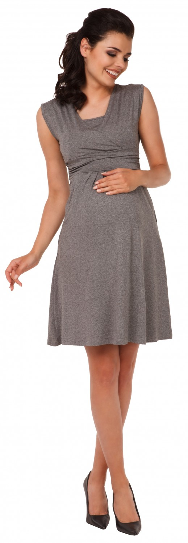 Zeta-Ville-Women-039-s-Maternity-Nursing-A-line-Dress-Pockets-Sleeveless-500c thumbnail 89