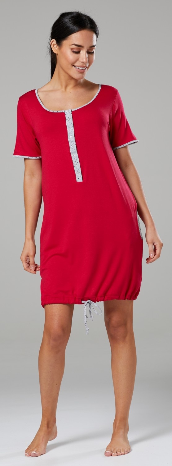 Happy-Mama-Women-039-s-Maternity-Nursing-Delivery-Hospital-Gown-Nightwear-209p thumbnail 34