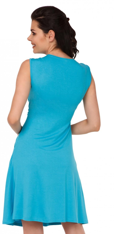 Zeta-Ville-Women-039-s-Maternity-Nursing-A-line-Dress-Pockets-Sleeveless-500c thumbnail 59