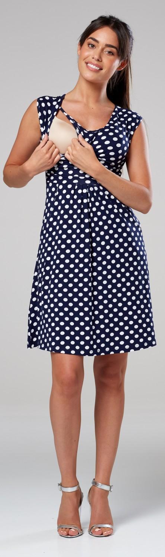 Zeta-Ville-Women-039-s-Maternity-Nursing-A-line-Dress-Pockets-Sleeveless-500c thumbnail 94