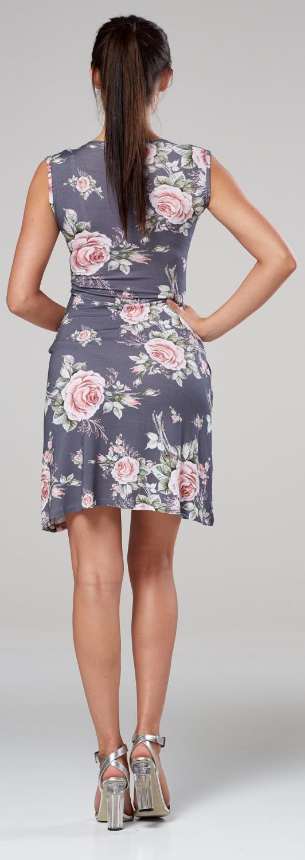 Zeta-Ville-Women-039-s-Maternity-Nursing-A-line-Dress-Pockets-Sleeveless-500c thumbnail 124