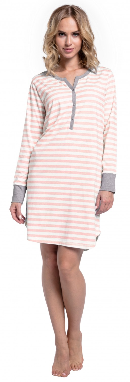 Happy-Mama-Women-039-s-Maternity-Hospital-Nightdress-Nursing-Nightie-Stripes-589p thumbnail 34