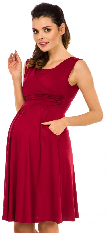 Zeta-Ville-Women-039-s-Maternity-Nursing-A-line-Dress-Pockets-Sleeveless-500c thumbnail 18