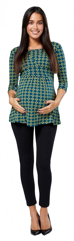 ZETA-Ville-WOMEN-039-S-Maternity-Nursing-Top-a-Strati-Collo-Contrasto-Dettagli-950c