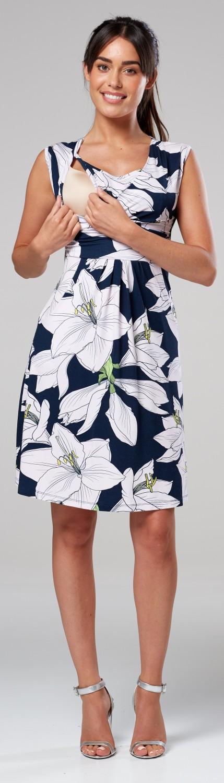 Zeta-Ville-Women-039-s-Maternity-Nursing-A-line-Dress-Pockets-Sleeveless-500c thumbnail 126