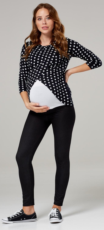 Happy-Mama-Women-039-s-Maternity-Nursing-Wrap-Top-3-4-Sleeves-Double-Layer-446p thumbnail 60