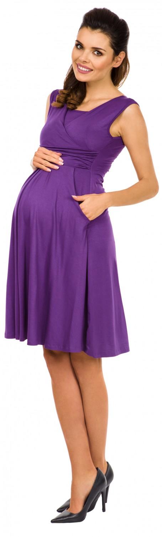 Zeta-Ville-Women-039-s-Maternity-Nursing-A-line-Dress-Pockets-Sleeveless-500c thumbnail 27