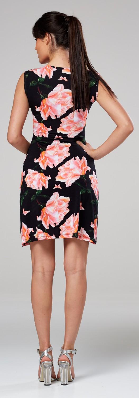 Zeta-Ville-Women-039-s-Maternity-Nursing-A-line-Dress-Pockets-Sleeveless-500c thumbnail 118