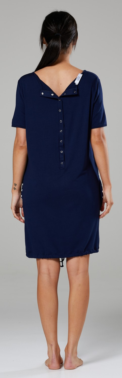 Happy-Mama-Women-039-s-Maternity-Nursing-Delivery-Hospital-Gown-Nightwear-209p thumbnail 18