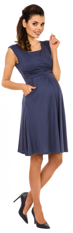 Zeta-Ville-Women-039-s-Maternity-Nursing-A-line-Dress-Pockets-Sleeveless-500c thumbnail 13