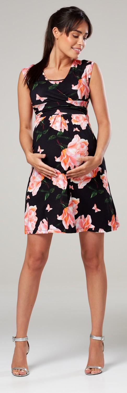 Zeta-Ville-Women-039-s-Maternity-Nursing-A-line-Dress-Pockets-Sleeveless-500c thumbnail 115