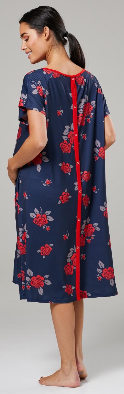 Zeta-Ville-Women-039-s-Maternity-Nursing-Delivery-Hospital-Gown-Nightshirt-536p thumbnail 50
