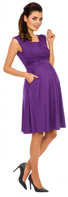 Zeta-Ville-Women-039-s-Maternity-Nursing-A-line-Dress-Pockets-Sleeveless-500c thumbnail 26