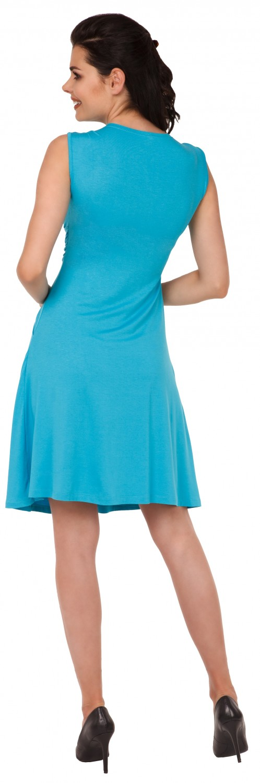 Zeta-Ville-Women-039-s-Maternity-Nursing-A-line-Dress-Pockets-Sleeveless-500c thumbnail 63