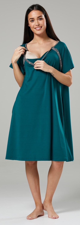 Zeta-Ville-Women-039-s-Maternity-Nursing-Delivery-Hospital-Gown-Nightshirt-536p thumbnail 21