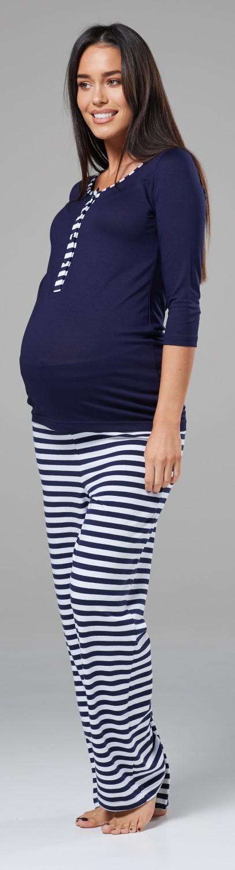 Womens Maternity Top Nursing Breastfeeding Pyjamas Crew Neck.544p HAPPY MAMA