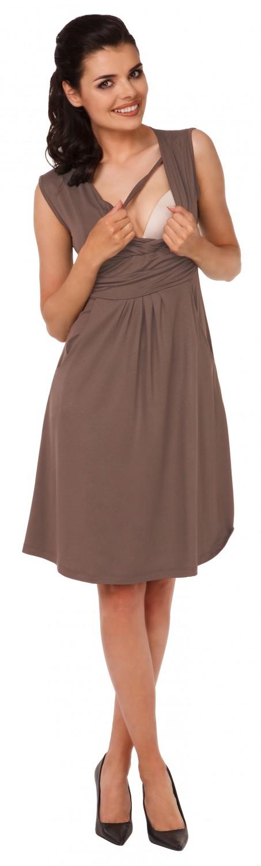 Zeta-Ville-Women-039-s-Maternity-Nursing-A-line-Dress-Pockets-Sleeveless-500c thumbnail 55